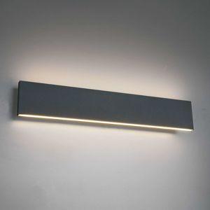 Trio Lighting Nástěnné LED světlo Concha 47 cm, antracit