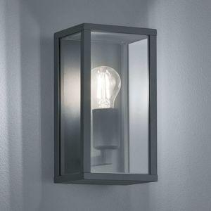 Trio Lighting Venkovní nástěnné svítidlo Garonne, antracit