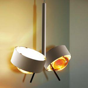 Top Light Zarovnatelné závěsné světlo PUK CEILING chrom mat