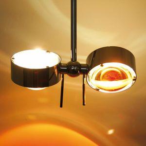 Top Light Zarovnatelné závěsné světlo PUK CEILING chrom