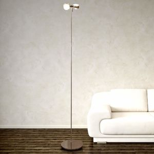 Top Light Flexibilní stojací lampa PUK FLOOR, chrom mat 2zdr