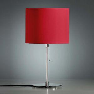 TECNOLUMEN TECNOLUMEN Walter Schnepel, stolní lampa červená