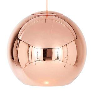 Tom Dixon Tom Dixon Copper Round kulové závěsné světlo 45cm