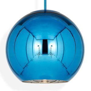 Tom Dixon Tom Dixon Copper Round 45 - závěsné světlo modré