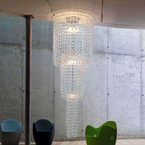 Vistosi Závěsné světlo Giogali, výška 350 cm