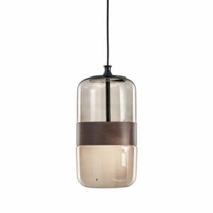 Vistosi Závěsné světlo Futura ze skla Murano, 23 cm