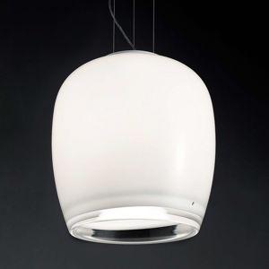 Vistosi Implode - závěsné světlo ze skla Ø 38 cm