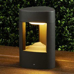 Lucande LED svítidlo Nanna spodstavcem 20cm– IP54
