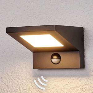 Lucande Venkovní LED světlo Levvon s detektorem pohybu