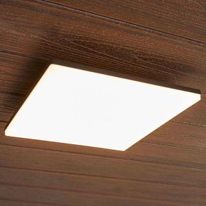 Lucande Čtvercové LED stropní světlo Henni pro exteriéry