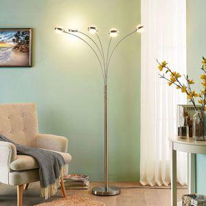 Lucande Pětibodová stojací LED lampa Catriona se stmívačem