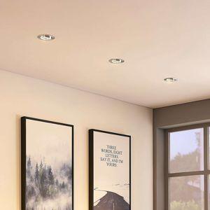 Lampenwelt.com Hliníkové podhledové svítidlo Cecylia s LED