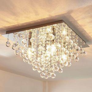 Lindby Annica - hranaté stropní světlo s akrylovými prvky