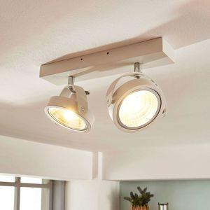 Arcchio Lieven - 2zdr LED stropní svítidlo v bílé