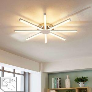 Lindby LED stropní svítidlo Korona tvaru slunce, stmívat.