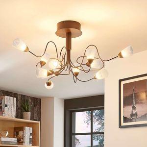Lampenwelt.com LED stropní svítidlo Hannes, kulaté