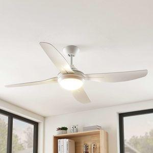 Arcchio Arcchio Inja LED stropní ventilátor 4 lopatky bílá