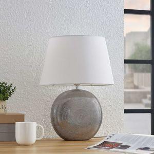 Lindby Lindby Florentino stolní lampa, látka a keramika