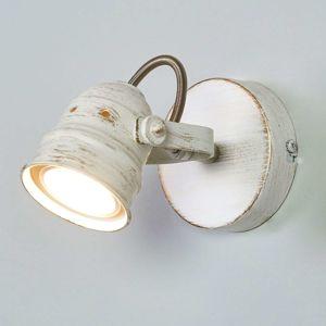 Lindby Bílé LED bodové svítidlo Leonor s žárovkou GU10