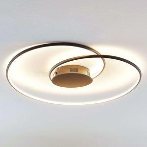 Lindby Lindby Joline LED stropní světlo, černé, 70 cm