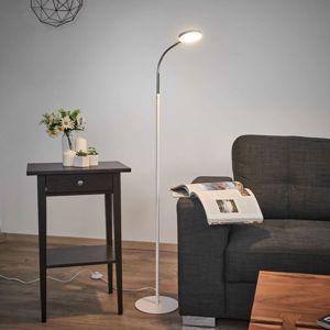 Lindby Milow - LED stojací lampa s labutím krkem