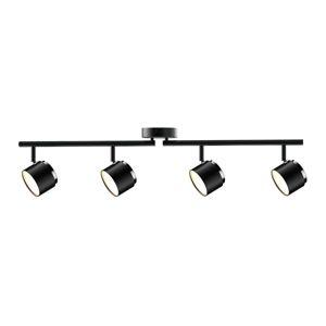 Lindby Lindby Marrie LED bodové světlo, černé, 4žárovkové