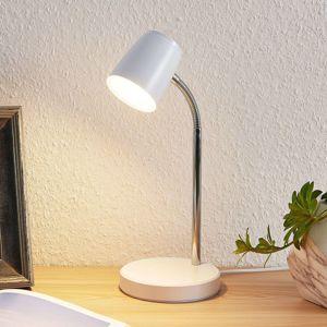 Lindby Lindby Jegor LED stolní lampa in bílé