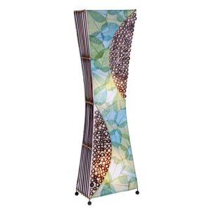 Woru Ručně vyrobená stojací lampa Talia přírodní