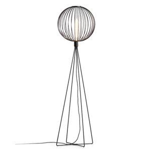 WEVER & DUCRÉ WEVER & DUCRÉ Wiro Globe 1.0 stojací lampa černá