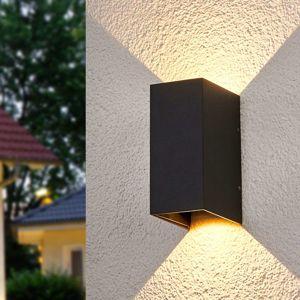 Lucande LED venkovní nástěnné svítidlo Kimian, venkovní