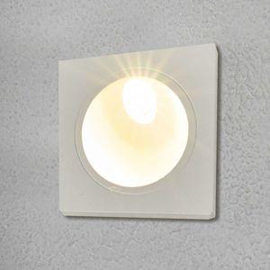 Lampenwelt.com LED nástěnné vestavné svítidlo Ian pro exteriéry