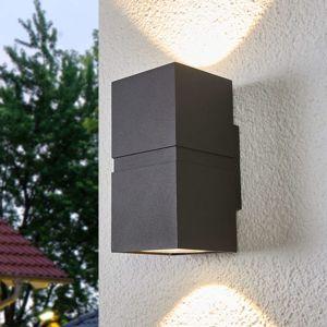 Lucande LED venkovní nástěnné svítidlo Gabriela, 2zdrojové