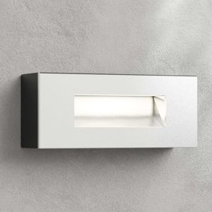 Lampenwelt.com LED venkovní nástěnná svítilna Jody, 19 cm hranatá