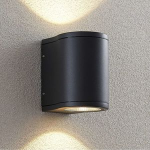 Lucande Lucande Janelis LED nástěnné světlo, tmavošedé