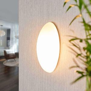 Lucande Skleněné nástěnné světlo Jemima, eliptický tvar