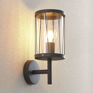 Lindby Lindby Yonan nástěnné světlo kulaté šedé E27
