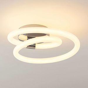 Lucande Lucande Lumka LED nástěnné svítidlo v chromu