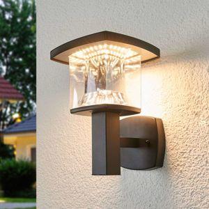 Lindby LED venkovní nástěnné svítidlo Askan z nerezu