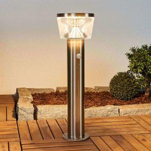 Lindby LED solární svítidlo se soklem Antje, snímač