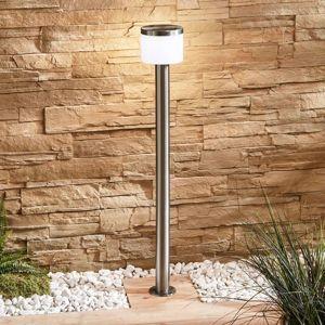 Lampenwelt.com LED svítidlo pro chodníky Cathleen, nerezová ocel