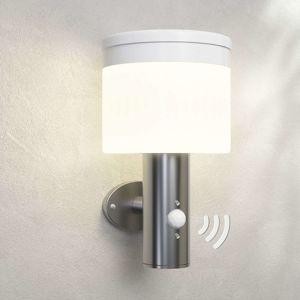 Lampenwelt.com LED solární venkovní svítidlo Cathleen, nerez