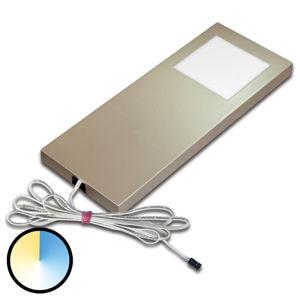 HERA Dynamic LED Slim-Pad F podhledové světlo, nerez
