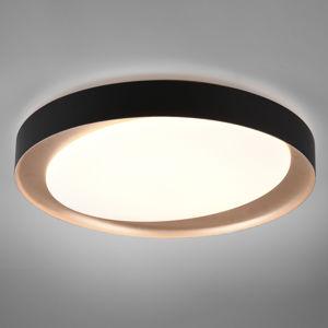 Reality Leuchten LED stropní světlo Zeta tunable white, černá/zlatá