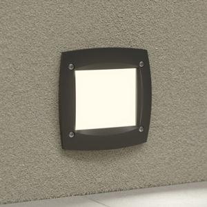 Fumagalli LED podhledové světlo Leti 100 Square černá 3W CCT