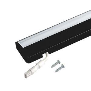 HERA LED podhled světlo Dynamic ModuLite F, černá,60cm