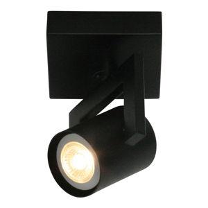 Freelight Moderní stropní světlo ValvoLED, černá, 1 zdroj