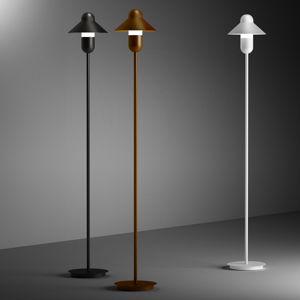ALMA LIGHT BARCELONA Stojací lampa CapsuleHat, bílá
